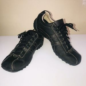 Skechers MEN'S LEATHER CityWalk Midnight Shoes 9